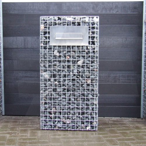 Gabionen-Briefkasten